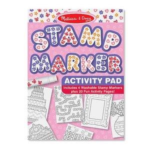 Melissa & Doug . M&D M&D STAMP ACTIVITY/PINK