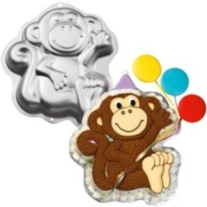 Wilton Products . WIL MONKEY PAN