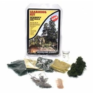 Woodland Scenics . WOO SCENERY DETAILS LEARNING KIT