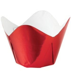 Wilton Products . WIL RED PLEATED FOIL CUPS