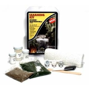 Woodland Scenics . WOO RIVER/WATERFALL LEARNING KIT