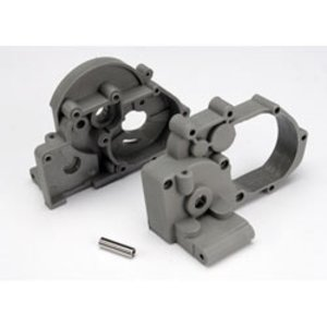 Traxxas Corp . TRA GEARBOX HALVES L&R GREY