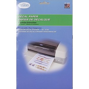 Testors Corp. . TES WHITE DECAL PAPER