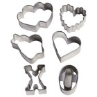 Wilton Products . WIL COOKIE CTTER 6 PC