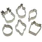Wilton Products . WIL MINI SN.FLAKE COOKIE CUTTER 6P