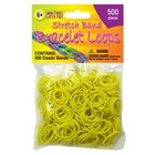 Pepperell . PEP STRTCHBND LOOPS 500CT NEON YEL