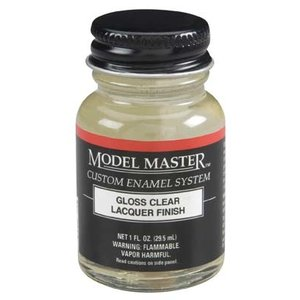 Testors Corp. . TES MM LACQUER 1OZ GLOSS CLEAR