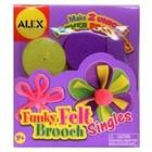 Alex Toys . ALX FUNKY FELT BROOCH
