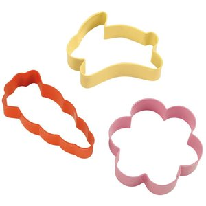 Wilton Products . WIL 3PC EASTER CUTTER SET