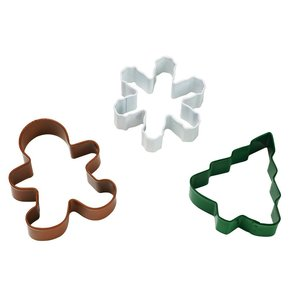 Wilton Products . WIL HOLLIDAY COOKIE CUTTER SET
