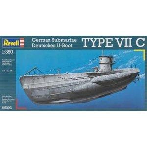 Revell of Germany . RVL 1/350 U BOOT TYP VIIC