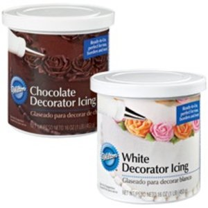 Wilton Products . WIL DECORATOR ICING CHOCOLATE