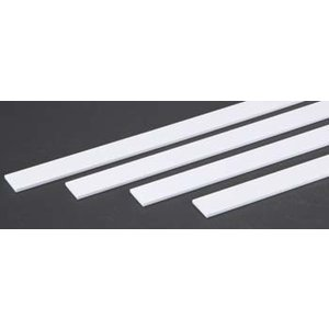 "Evergreen Scale Models . EVG STRIP .100""""X.750"""" LONG"