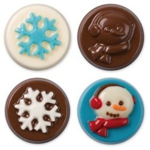 Wilton Products . WIL WINTER COOKIE MOLDS