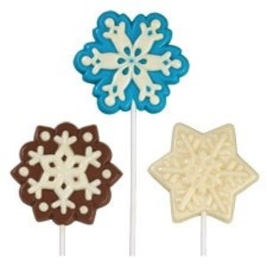 Wilton Products . WIL LG SNOWFLAKE LOLLIPOP MOLD
