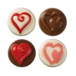 Wilton Products . WIL HEARTS COOKIE CANDY MLD