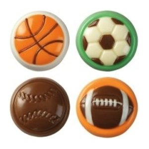 Wilton Products . WIL SPORTS COOKIE CANDY MLD