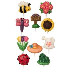 Wilton Products . WIL MOLD CANDY BUGS & GARDEN
