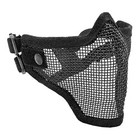 Tactic . TAC 2G STRIKE STEEL 1/2 MASK BLK