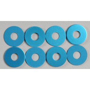 Tamiya America Inc. . TAM WHEEL SPACER BLUE