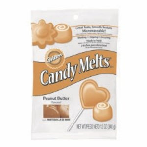 Wilton Products . WIL CANDY MELTS PEANUT BUTTER 12OZ