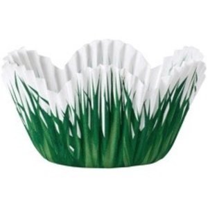Wilton Products . WIL MINI PETAL GRASS BAKING CUP