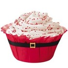 Wilton Products . WIL BAKING CUPS 12 CT SANTA BELT