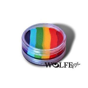 Wolfe Brothers . WBT WOLFE TRUE RAINBOW CAKE