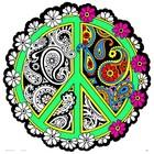 Stuff To Color . SFC Velvet Die Cut Peace Mandala