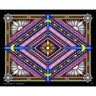 Stuff To Color . SFC 16X20 VELVET POSTER GEO BEACON