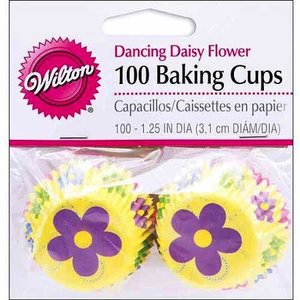 Wilton Products . WIL DANCING DAISY MINI BAKE CUP