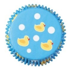 Wilton Products . WIL RUBBER DUCKY MINI BAKE CUPS
