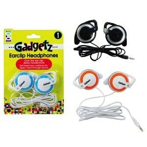Geddes . GED GADGETZ EARCLIP HEADPHONE
