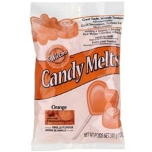 Wilton Products . WIL CANDY MELTS ORANGE 12OZ