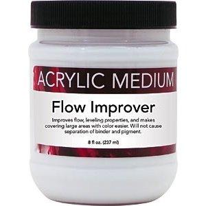 Art Advantage . ART 8OZ ACRYLIC FLOW IMPROVER