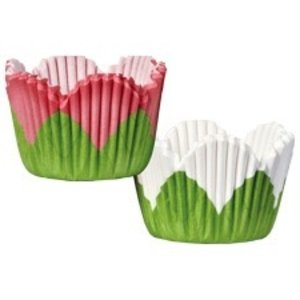 Wilton Products . WIL MINI RUFFLE RED/GREEN