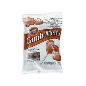 Wilton Products . WIL CANDY MELTS LT. COCOA