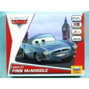 Zvezda Models . ZVE FINN MCMISSELE CARS SNAP KIT