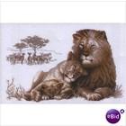 UAB RIOLIS . RIO CROSS STCH KIT LIONS PARADISE