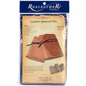 Silver Creek Crafts . SCC LEATHER JOURNAL KIT NATURAL