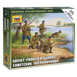 Zvezda Models . ZVE 1/72 SOVIET FRONTIER GUARD