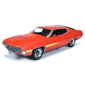 American Muscle Diecast . AMD 1/18 FORD TORINO GT .70