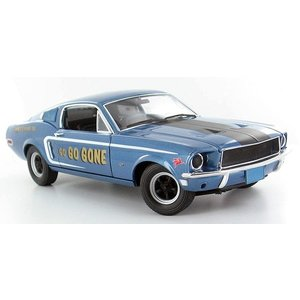 Green Light Collectibles . GNL 1/18 '68 MUSTANG GT FASTBACK
