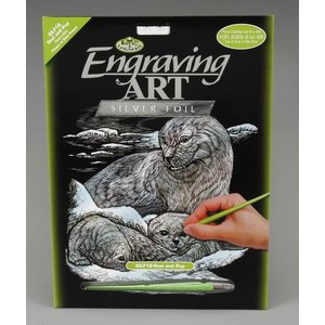 Royal (art supplies) . ROY SILVER ENGRAVING SEAL/PUP