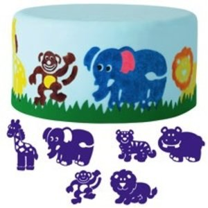 Wilton Products . WIL ANIMALS STAMP SET 6PC