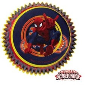 Wilton Products . WIL SPIDERMAN ULTIMATE BAKING CUPS