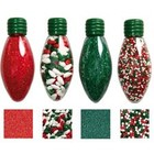 Wilton Products . WIL X-MAS BULB  SPRINKLE SET