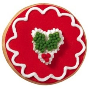 Wilton Products . WIL ICING DECS HOLLY MINI