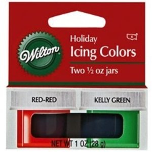Wilton Products . WIL COLOR KIT ICING CHRISTMAS 2 CL
