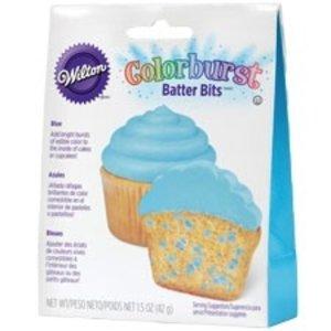 Wilton Products . WIL BATTER BITS COLORBURST BLUE